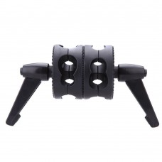 Double Dual Grip Swivel Head Bracket for Boom Arm Reflector Holder