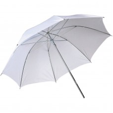 109cm 43 inch White Soft Umbrella