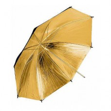 109cm 43 inch Black Gold Umbrella