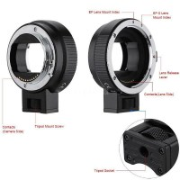 Canon Auto Focus for  EF EFS to SONY E NEX A7 Lens Mounts Tube Ring Adaptor