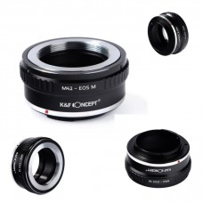 K&F Concept Lens Adapter  M42 Lens mount to Canon EOS M