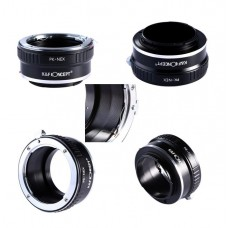 K&F Concept Lens Adapter Pentax K PK Mount to Sony E NEX