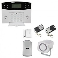 1. LCD WIRELESS GSM AUTODIAL SMS BURGLAR INTRUDER ALARM