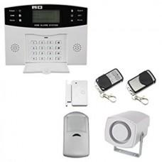 1. LCD WIRELESS GSM AUTODIAL SMS BURGLAR INTRUDER ALARM