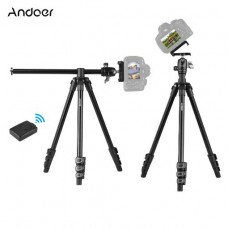 20736 Andoer Q160H Portable Camera Tripod Horizontal Mount