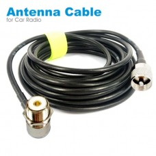 26121 PL259 Antenna Connector Coaxial Extend Cord Cable SO239 5M 16ft