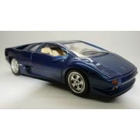 BBurago 1990 Lamborghini Diablo Blue