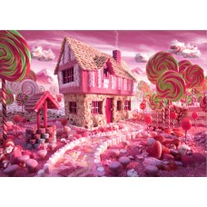 200x300cm 7X10ft Photography Background Candy House