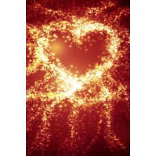 200x300cm 7X10ft Photography Background Romantic Love Fireworks Valentine's Day