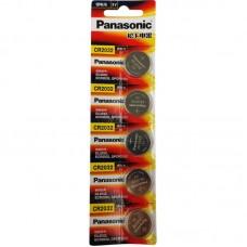 3345 Panasonic 1 CR2032 LITHIUM BATTERY 5 pcs