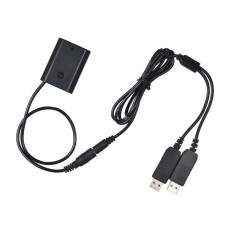 NP-FZ100 Dual USB DC Coupler Dummy Battery For Sony