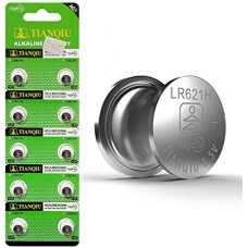 3352 Tianqiu LR621H / AG1 / 364A Alkaline 1.5V Button Cell Battery