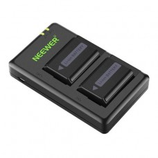 05422 Neewer 2-Pack NP-FW50 Battery Charger Set