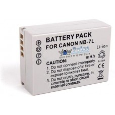 NB-7L Battery for Canon
