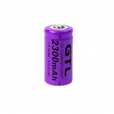 3346 CR123A 3.7V 2300mAh Rechargeable 16340 Battery