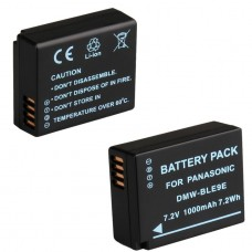 Panasonic DMW-BLE9E  Battery for Panasonic