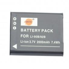 Li-90B Li-92B Battery For Olympus