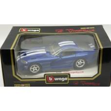 Bburago 1996 Dodge Viper GTS Coupe cod3030