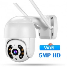 27342 CCTV Smart Home Security IP Camera 5MP HD Outdoor AI Human Detection Audio 3MP