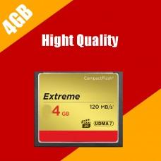 CF Compact Flash Memory Card 4 GB