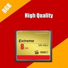 CF Compact Flash Memory Card 8 GB
