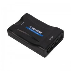38225 HDMI to SCART Video Audio Upscale Converter Adapter HD 1080P