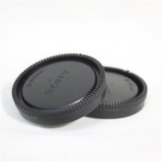Camera Sony E-Mount  Body Cap and Rear Lens Cap