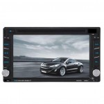 6.2inch 2 Din HD Car DVD/USB/SD Player GPS Navigation FM/FM Radio