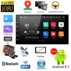 Car 7inch Double 2-Din Android 8.1 MP5 Player Radio GPS WIFI