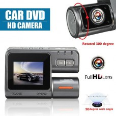 Car 1080P HD Dash Dual Camera Night Vision Recorder