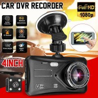 25212 Dash-Cam 4 inch Touch Screen 1080P HD  Front & Rear Camera + G-Sensor
