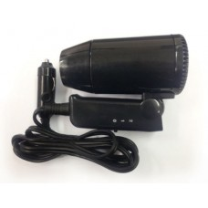 12V Black Traveling Camping Car Hair Dryer
