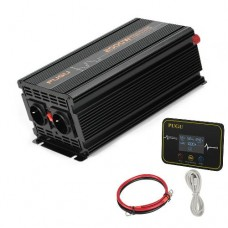 26822 Inverter 2000W to 4000W Modified Sine Wave Power DC converter LCD + Digital Remote Control