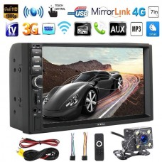 Car 7inch Touch Screen MP5 MP3 MP4 Player in Car Stereo Bluetooth 2 DIN USB FM
