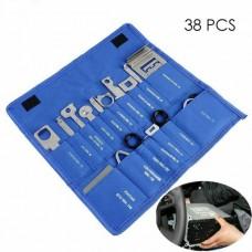 25121 38 Pcs Steel Car Stereo Release Removal Keys Set