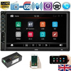 "7"" Car Stereo SWM-N6  Bluetooth Radio MP5 Player Double DIN Touch Screen Phone-Link"