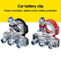 25822 Car 1 Pair 12V 24V Top Post Battery Wire Cable Clamp