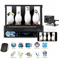 """XGODY 9901 1 DIN 7"""" Car Stereo Radio MP5 Player Touch Bluetooth Receiver Camera Monitor kit"""