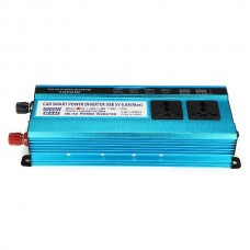 5000W Inverter Car Solar Power  LED DC To AC Sine Wave Converter