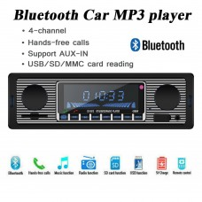 Bluetooth Retro Car Radio MP3 Player