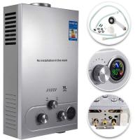 250113 VEVOR 16L LPG Water Heater Propane Gas Tankless Instant Boiler With Shower