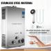 250110 VEVOR 6L LPG Water Heater Propane Gas Tankless Instant Boiler With Shower