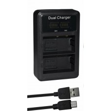 DMW-BLF19 Charger for Panasonic DMC-GH3 DMC-GH4. DMC-GH5