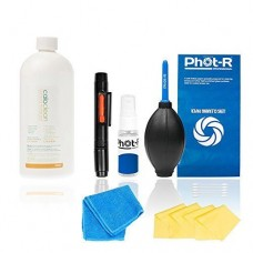 PhotR Professional 10in1 Camera Lens Cleaning Kit, 500ml Calotherm Cleaning Fluid