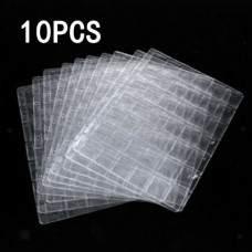 10Pcs Coins 20-Pocket Holder Page