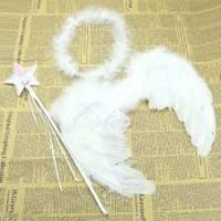 Baby Kids Angel Fairy  Wing Costume