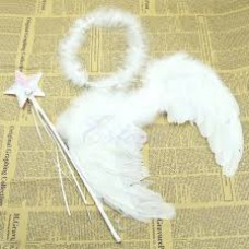 Baby Kids Angel Fairy  Wing Costume