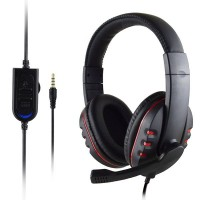 Headset Stereo 3.5mm Wired Gaming Headphone For PS4 Xbox One Nintendo Switch PC