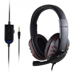 Headset Stereo 3.5mm Wired Gaming Headphone