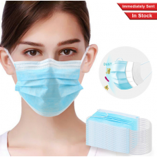 50pcs Servings 3-layer Protective Mask Anti-spit Mask Thickened Masks 96